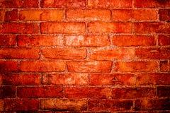 红砖墙壁背景,纹理 图库摄影