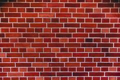 红砖墙壁艺术性的背景,规则纹理 免版税图库摄影