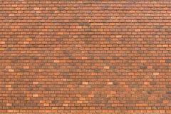 红砖墙壁装饰 免版税库存图片