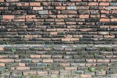 红砖墙壁 图库摄影