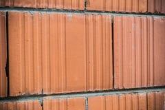 红砖墙壁 免版税库存照片