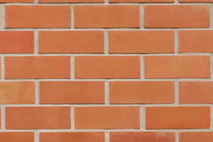 红砖墙壁 库存照片