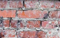 红砖墙壁 库存图片