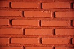 红砖墙壁 库存例证