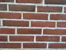 红砖的墙壁 免版税库存图片