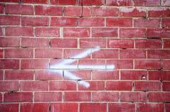 红砖的纹理 免版税库存图片