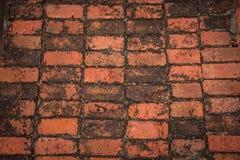 红砖纹理 免版税库存照片