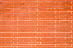 红砖老墙壁纹理背景 图库摄影