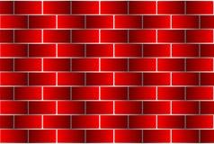红砖-传染媒介样式 库存照片