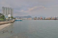 红磡海湾和九龙海湾hk 库存图片
