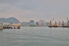 红磡海湾和九龙海湾hk 免版税库存图片