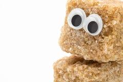 红糖面孔 免版税库存图片