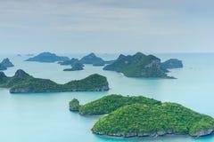 红统群岛,苏梅岛海岛,泰国 免版税库存图片