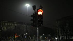 红绿灯闪光 股票录像
