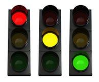 红绿灯 免版税库存照片