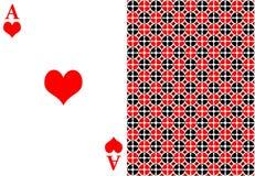 红色一点卡片 库存照片