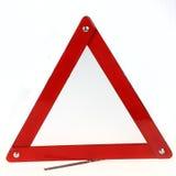 红色三角符号 免版税库存图片