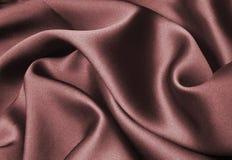 红色丝带丝绸 免版税库存照片