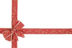 红色丝带 库存图片