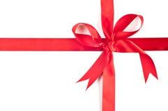 红色丝带 免版税库存照片