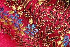 红色丝绸 库存图片