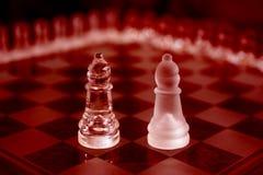 红色主教水晶的部分 免版税图库摄影