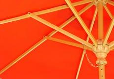 红色伞 免版税图库摄影