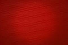 红色体育滤网布料纹理 免版税库存照片