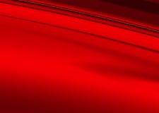 红色使光滑 免版税库存照片