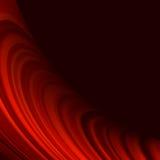 红色使转弯灯光管制线光滑。EPS 10 免版税库存图片