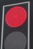 红色信号灯 图库摄影