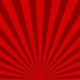 红色光束背景 也corel凹道例证向量 库存例证