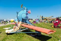 红色公牛Flugtag 2015年 免版税库存图片
