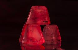 红色冰 免版税图库摄影