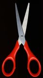 红色剪刀 免版税库存图片