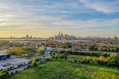 红色勾子五谷终端-布鲁克林,纽约 免版税库存图片
