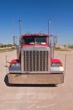 红色卡车 免版税图库摄影