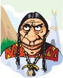 红色印地安人 库存图片