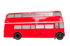 红色双层公共汽车 库存图片