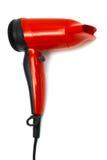 红色吹风器 免版税库存图片