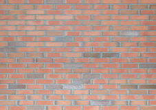 红色和灰色砖墙 图库摄影
