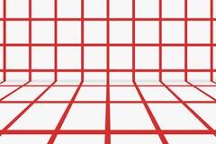 红色和白色苏格兰背景 免版税库存照片