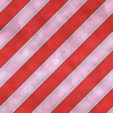 红色和白色镶边布料无缝的瓦片纹理背景 库存图片