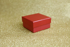 红色和箱子 免版税库存图片