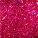 红色和紫色闪烁摘要 免版税库存图片