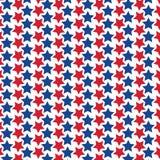 红色和蓝星样式 免版税库存照片