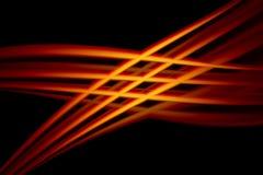 红色和黄色抽象背景 图库摄影