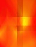 红色和黄色抽象背景 免版税库存照片