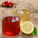 红色和黄色茶 免版税库存照片