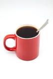 红色咖啡杯 库存照片
